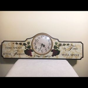 Other - 🍷Wine themed clock🍷